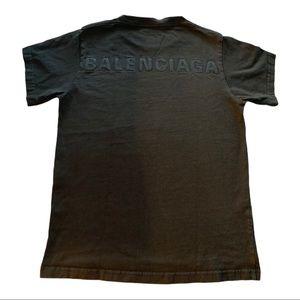 Balenciaga logo T-Shirt XS